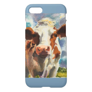 Caja de la cara iPhone7 de la vaca Funda Para iPhone 7
