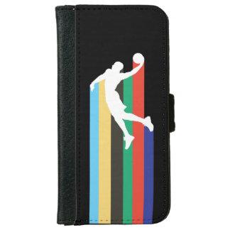 Caja de la cartera del logotipo de NBA de Russel