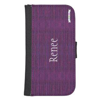 Caja de la cartera del teléfono del diseño de