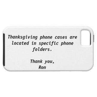 Caja de la casamata de la acción de gracias iPhone 5 protector