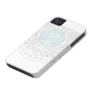 Caja de la casamata de la paz 01 iPhone 4 protector