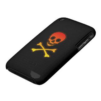 Caja de la casamata del iPhone 3G/3GS del cráneo d iPhone 3 Case-Mate Cárcasas