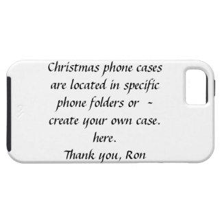 Caja de la casamata del navidad funda para iPhone 5 tough