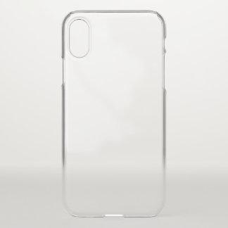 Caja de la desviación del iPhone X Clearly™ de Funda Para iPhone X
