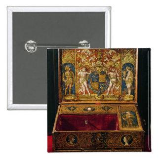 Caja de la escritura o escritorio de la tabla chapa cuadrada 5 cm