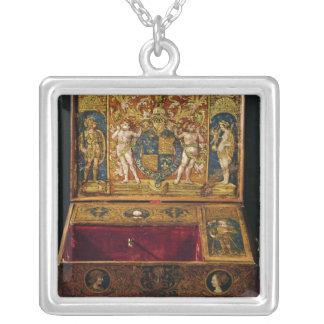 Caja de la escritura o escritorio de la tabla collar