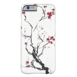 Caja de la flor de cerezo funda de iPhone 6 barely there