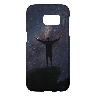Caja de la galaxia (galaxia S7 de Samsung) Funda Samsung Galaxy S7