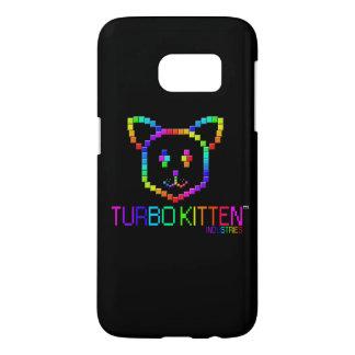 Caja de la galaxia S7 del gatito de Turbo Funda Samsung Galaxy S7