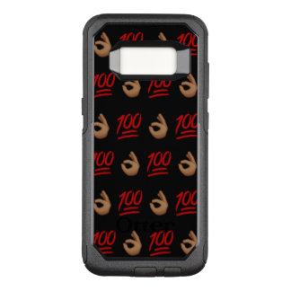 Caja de la galaxia S8 Otterbox de #Keepit100 Funda Commuter De OtterBox Para Samsung Galaxy S8