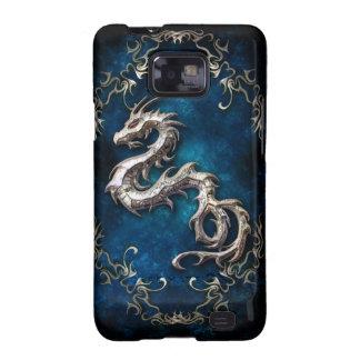 caja de la galaxia S de Samsung del dragón Galaxy SII Carcasa