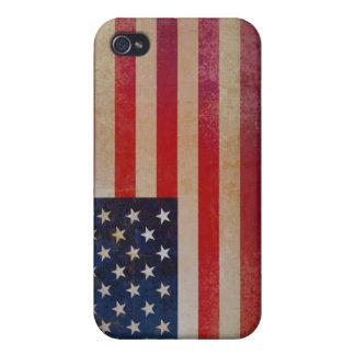 Caja de la mota del iPhone 4/4s de la bandera de iPhone 4 Fundas