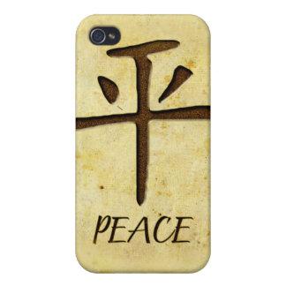 Caja de la mota del iPhone 4/4S de la paz iPhone 4/4S Carcasa