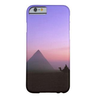 Caja de la pirámide funda barely there iPhone 6