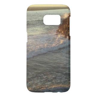 Caja de la playa de la galaxia s4 de Samsung Funda Samsung Galaxy S7