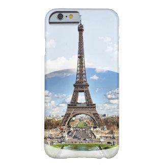 Caja de la torre Eiffel (iPhone 6/6s) Funda Barely There iPhone 6