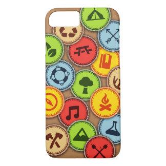 Caja de las insignias al mérito funda iPhone 7