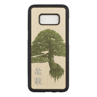 Caja de madera flotante de la galaxia S8 del árbol Funda Para Samsung Galaxy S8 De Carved