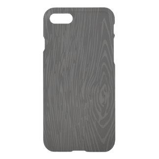 Caja de madera negra del iphone 7 funda para iPhone 7