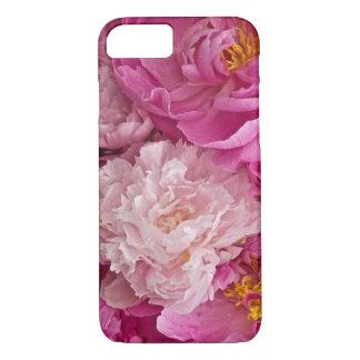 Caja de niña del teléfono 6 del Peony rosado Funda iPhone 7