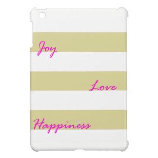 Caja de oro del iPad de la alegría