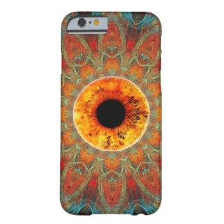 Caja de oro del iPhone 6 del tercer ojo del ojo Funda Para iPhone 6 Barely There