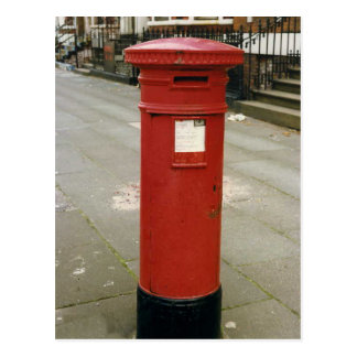 Caja de pilar británica del Victorian Tarjetas Postales