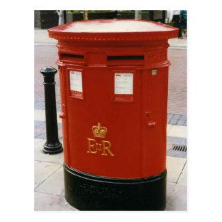 Caja de pilar británica - Elizabeth II Postal