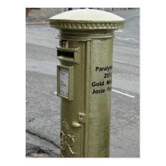 Caja de pilar británica - George VI Postal