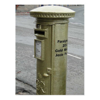 Caja de pilar británica - George VI Tarjetas Postales