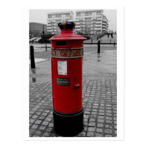 Caja de pilar británica - Special 1853 de Liverpoo Tarjeta Postal