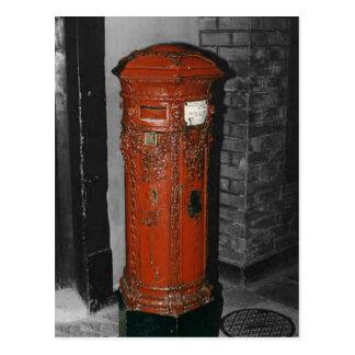 Caja de pilar británica tarjetas postales