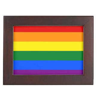 Caja De Recuerdos Bandera del arco iris