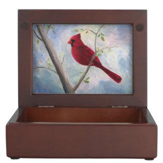 Caja De Recuerdos Cardinal