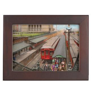 Caja De Recuerdos Ciudad - Chicago - la estación 1907 de la calle de