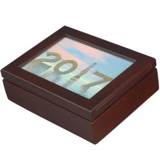 Caja De Recuerdos Feliz Año Nuevo 2017 del zen - 3D rinden