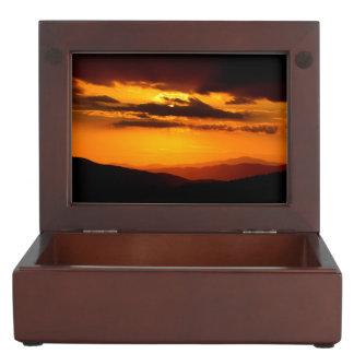 Caja De Recuerdos Foto hermosa de la puesta del sol