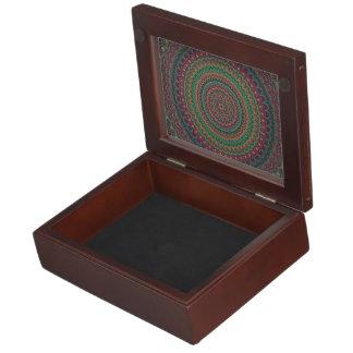 Caja De Recuerdos Mandala de la flor