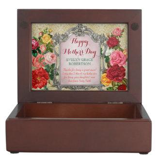 Caja De Recuerdos Marco barroco de la foto de la suposición dulce de
