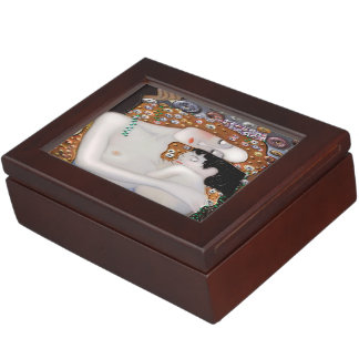 Caja De Recuerdos Mi Klimt Serie: Madre y niño