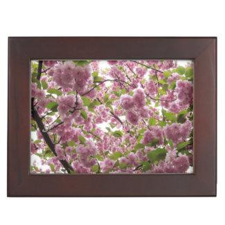 Caja De Recuerdos Toldo II de la flor de cerezo
