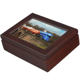 Caja De Recuerdos Tren - retro - resuelva los Royals 1938