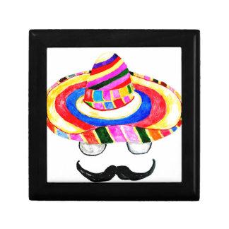 Caja De Regalo Acuarela 2 del gorra del sombrero