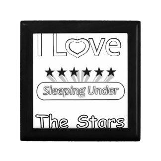 Caja De Regalo Amo el dormir debajo de las estrellas