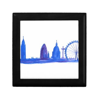Caja De Regalo Azul de Londres
