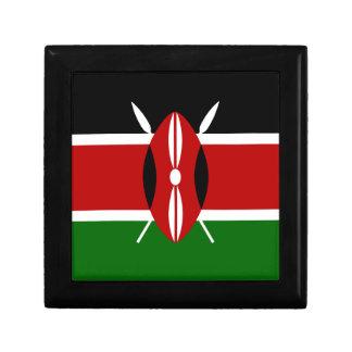 Caja De Regalo ¡Bajo costo! Bandera de Kenia