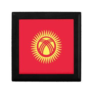 Caja De Regalo ¡Bajo costo! Bandera de Kirguistán