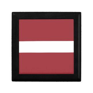 Caja De Regalo ¡Bajo costo! Bandera de Letonia