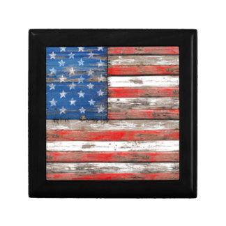 Caja De Regalo Bandera americana