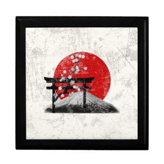 Caja De Regalo Bandera y símbolos de Japón ID153